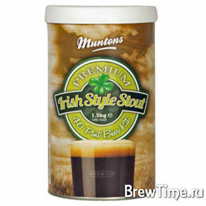 Набор Muntons Premium Irish Stout 1,5 кг.